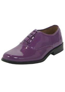 Purple Tux Shoes