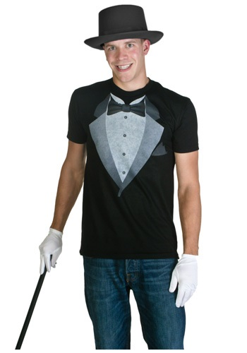 Mens Tuxedo Costume T-Shirt
