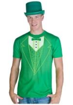 Green Tuxedo Costume T-Shirt