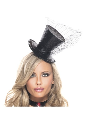 Image of Mini Glitter Top Hat