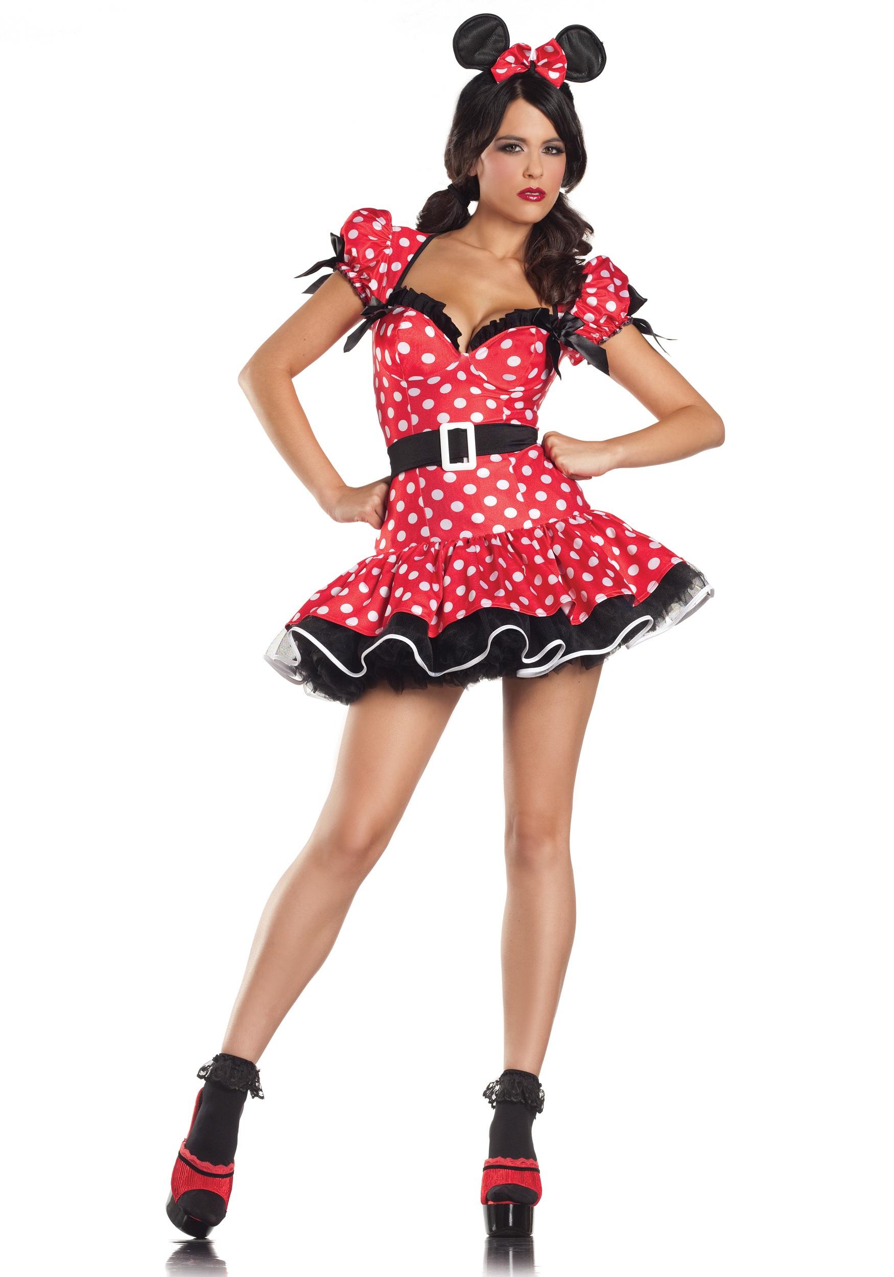 669810d49026d Plus Size Flirty Mouse Costume 1X 2X