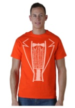Orange Tuxedo Costume T-Shirt