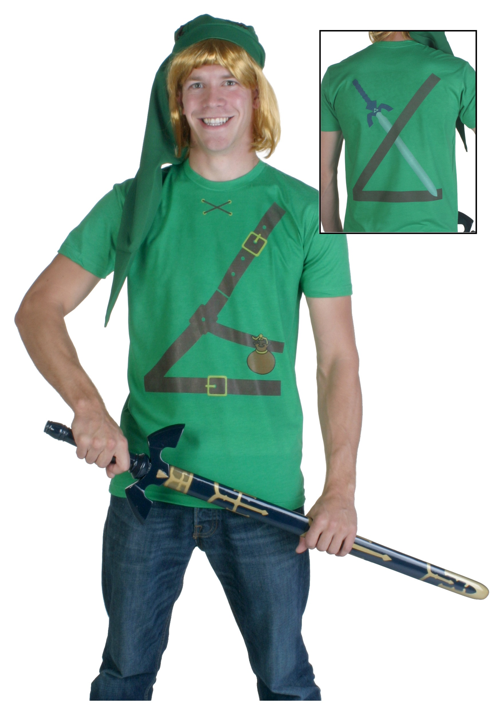 Elf Warrior Costume T-Shirt