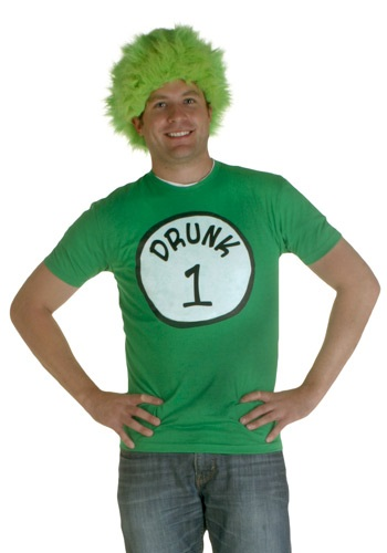 Drunk 1 Costume T-Shirt (Drunk 1 Costume Tshirt)