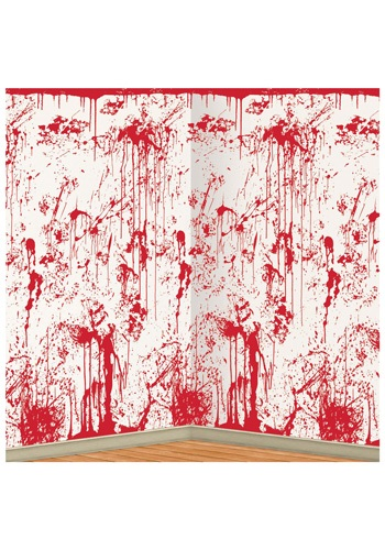 Bloody Wall Backdrop By: Beistle for the 2015 Costume season.