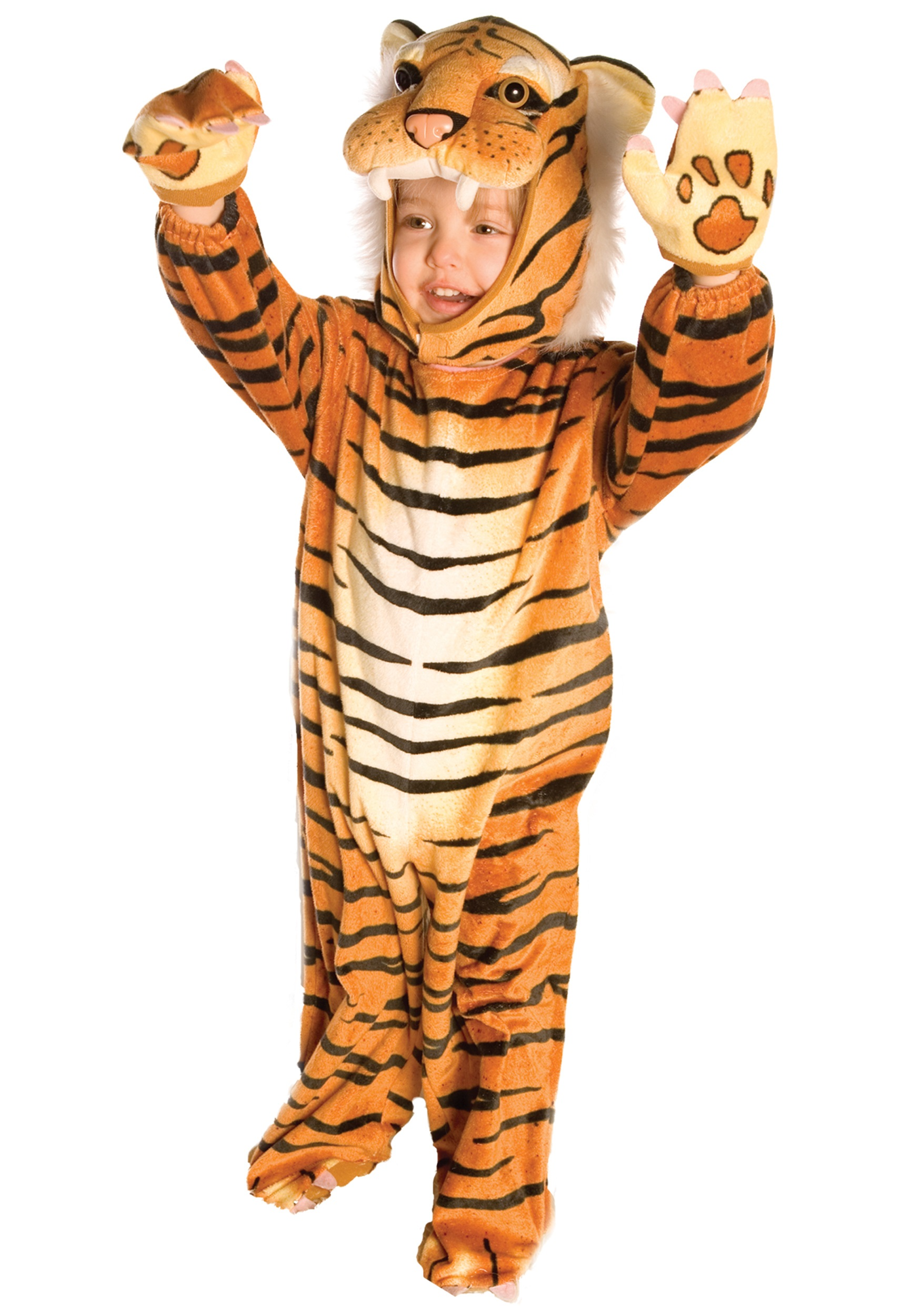 Tiger halloween costume for toddler