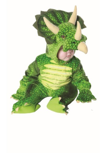 Infant  and  Toddler Triceratops Costume By: Underwraps for the 2015 Costume season.