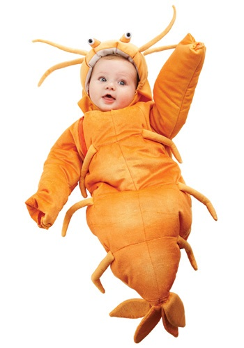 Click Here to buy Baby Shrimp Bunting from HalloweenCostumes, CDN Funds