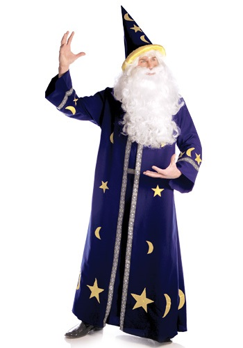 Click Here to buy Mens Magic Wizard Costume from HalloweenCostumes, USA Funds & Shipping