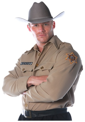 Mens Sheriff Shirt By: Underwraps for the 2015 Costume season.