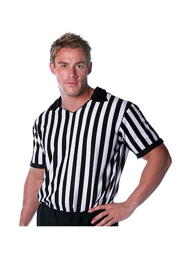 Plus Size Referee Shirt By: Underwraps for the 2015 Costume season.