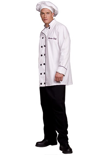 sc 1 st  Halloween Costumes & Mens Chef Costume