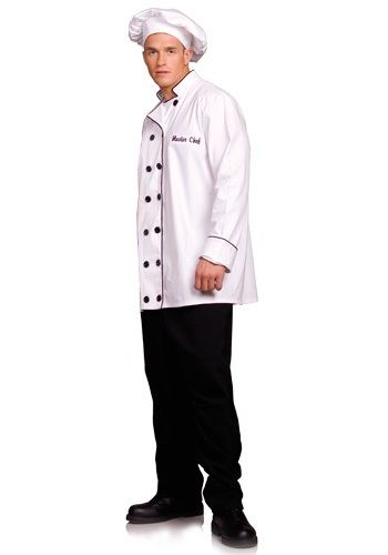 Plus Size Chef Costume By: Underwraps for the 2015 Costume season.