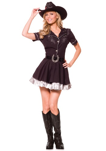 Image of Adult Rhinestone Cowgirl Costume