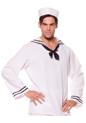 Plus Size Sailor Shirt By: Underwraps for the 2015 Costume season.
