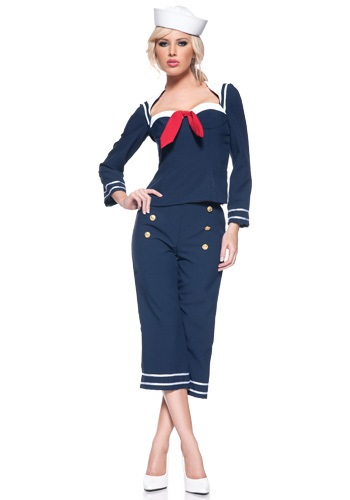 Womens Ship Mate Costume By: Underwraps for the 2015 Costume season.