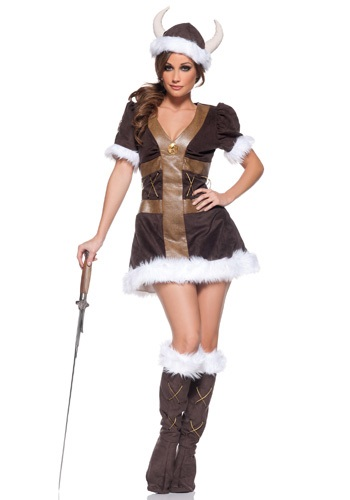 Click Here to buy Viking Princess Costume from HalloweenCostumes, USA Funds & Shipping