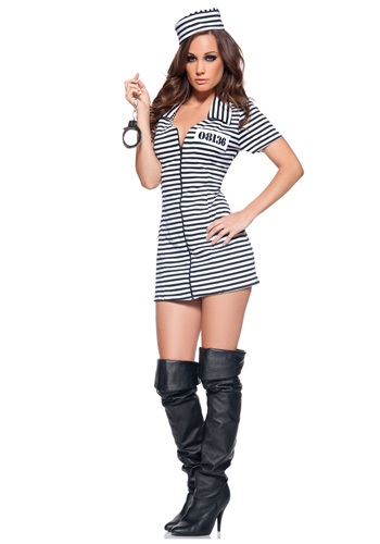 Miss Behaved Prisoner Costume UN29127-L