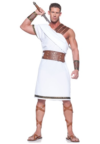 Plus Size Greek Warrior Costume