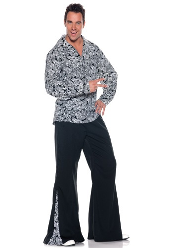 Plus Size Funky Disco Costume for Men