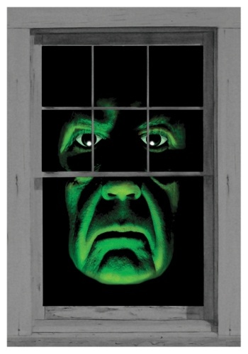 Green Demon Window Cling By: WOWindows for the 2015 Costume season.