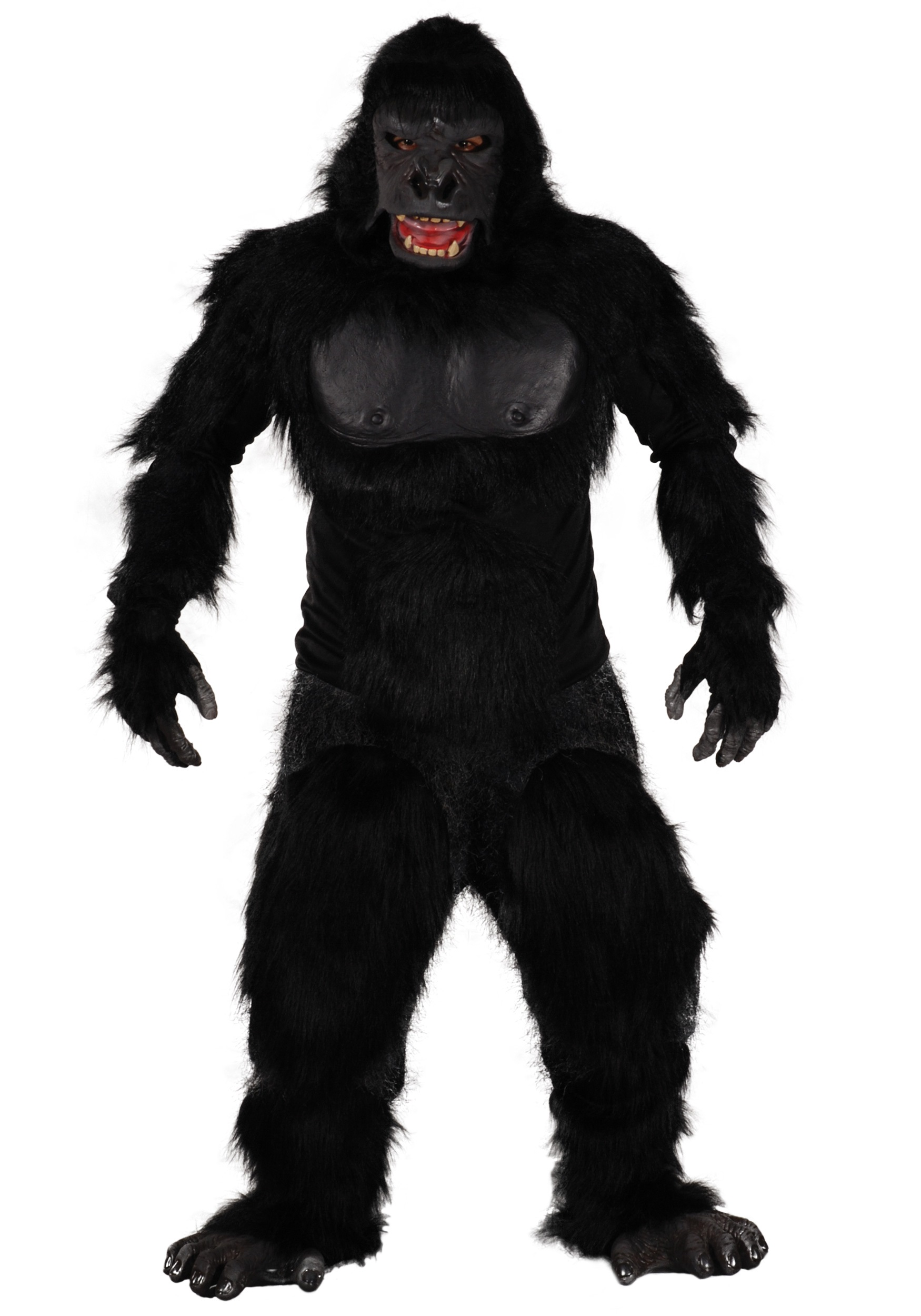 Uncategorized How To Make A Gorilla Costume two bit roar gorilla costume