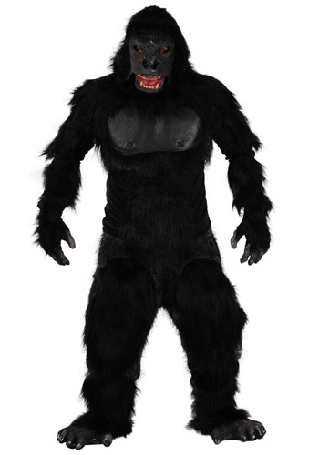 Click Here to buy Two Bit Roar Gorilla Costume from HalloweenCostumes, USA Funds & Shipping