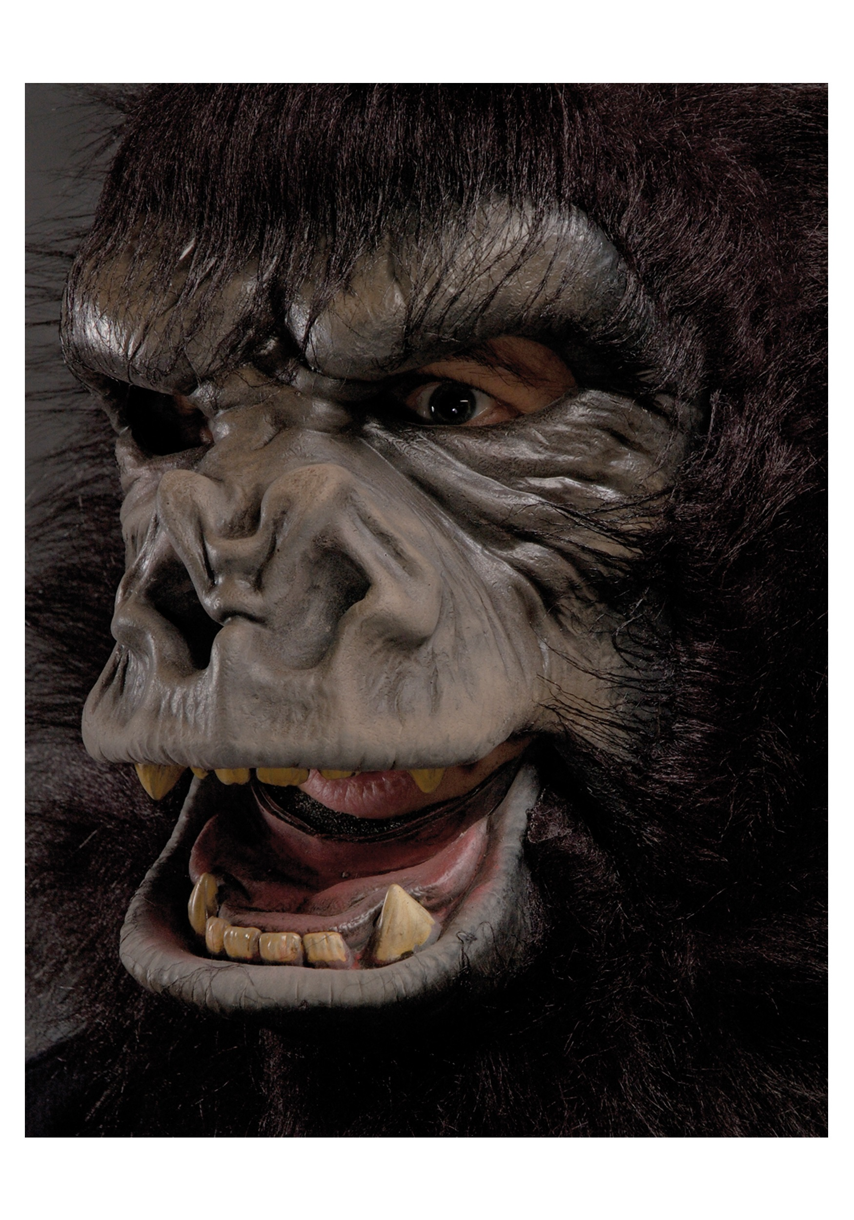 sc 1 st  Halloween Costumes & Two Bit Roar Gorilla Mask