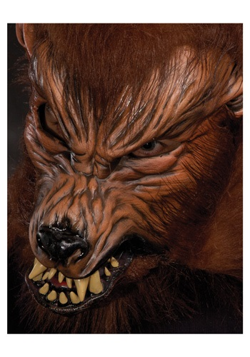 Click Here to buy Howl O Ween Werewolf Mask from HalloweenCostumes, CDN Funds