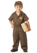 Toddler UPS Guy Costume