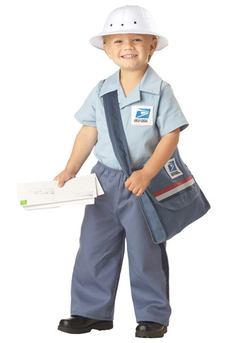 United States Mailman Halloween Costumes