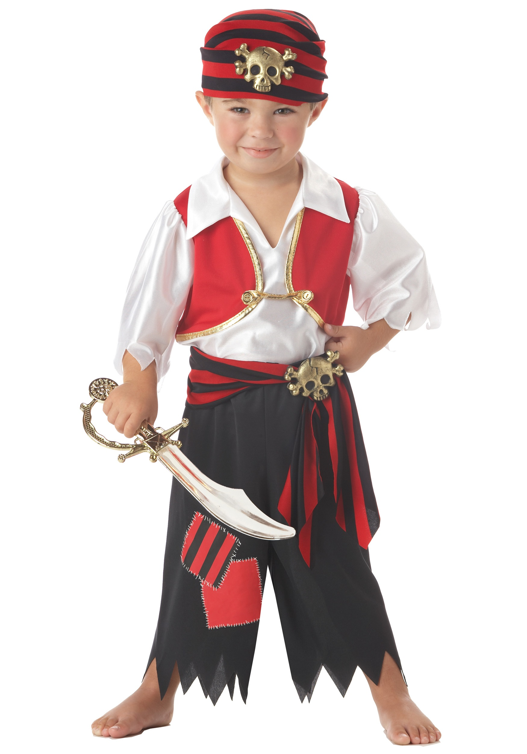 Toddler Ahoy Matey Pirate Costume
