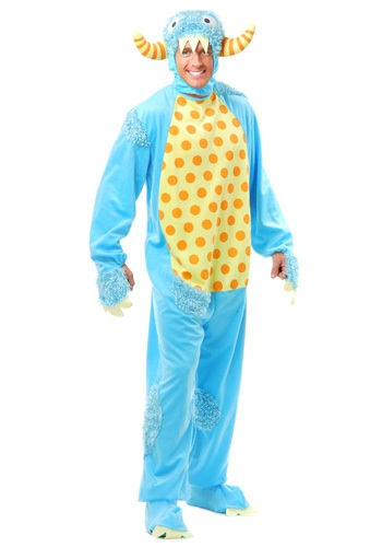Click Here to buy Adult Blue Monster Costume from HalloweenCostumes, CDN Funds