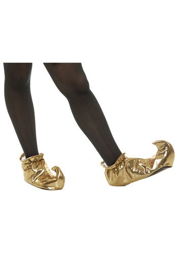 Gold Genie Shoes By: Charades for the 2015 Costume season.