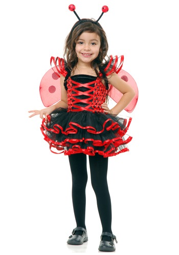 Click Here to buy Toddler Lady Bug Cutie Costume from HalloweenCostumes, CDN Funds