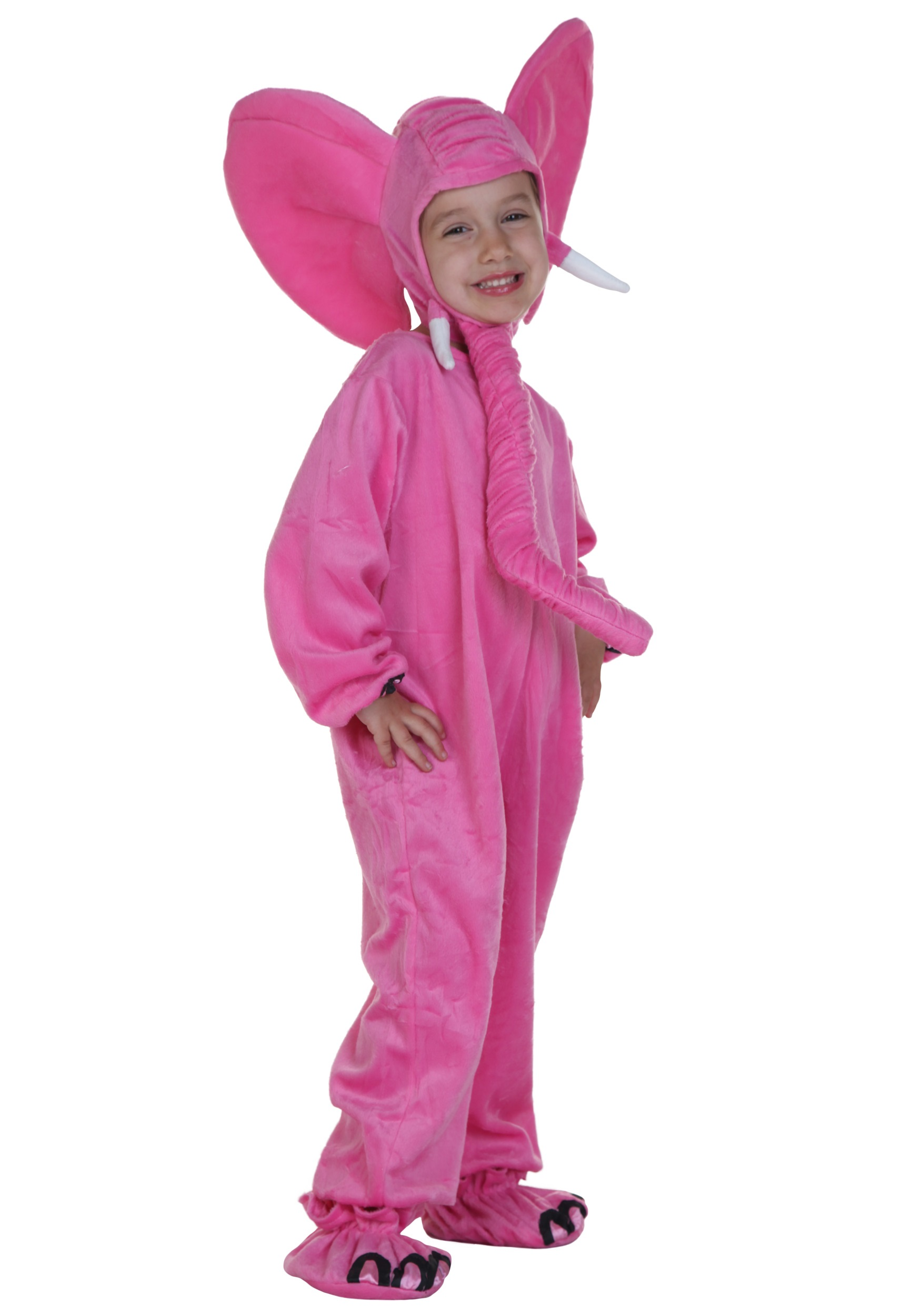 sc 1 st  Halloween Costumes & Child Pink Elephant Costume