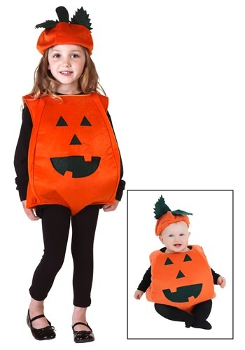 Toddler Orange Pumpkin Costume By: Fun Costumes for the 2015 Costume season.
