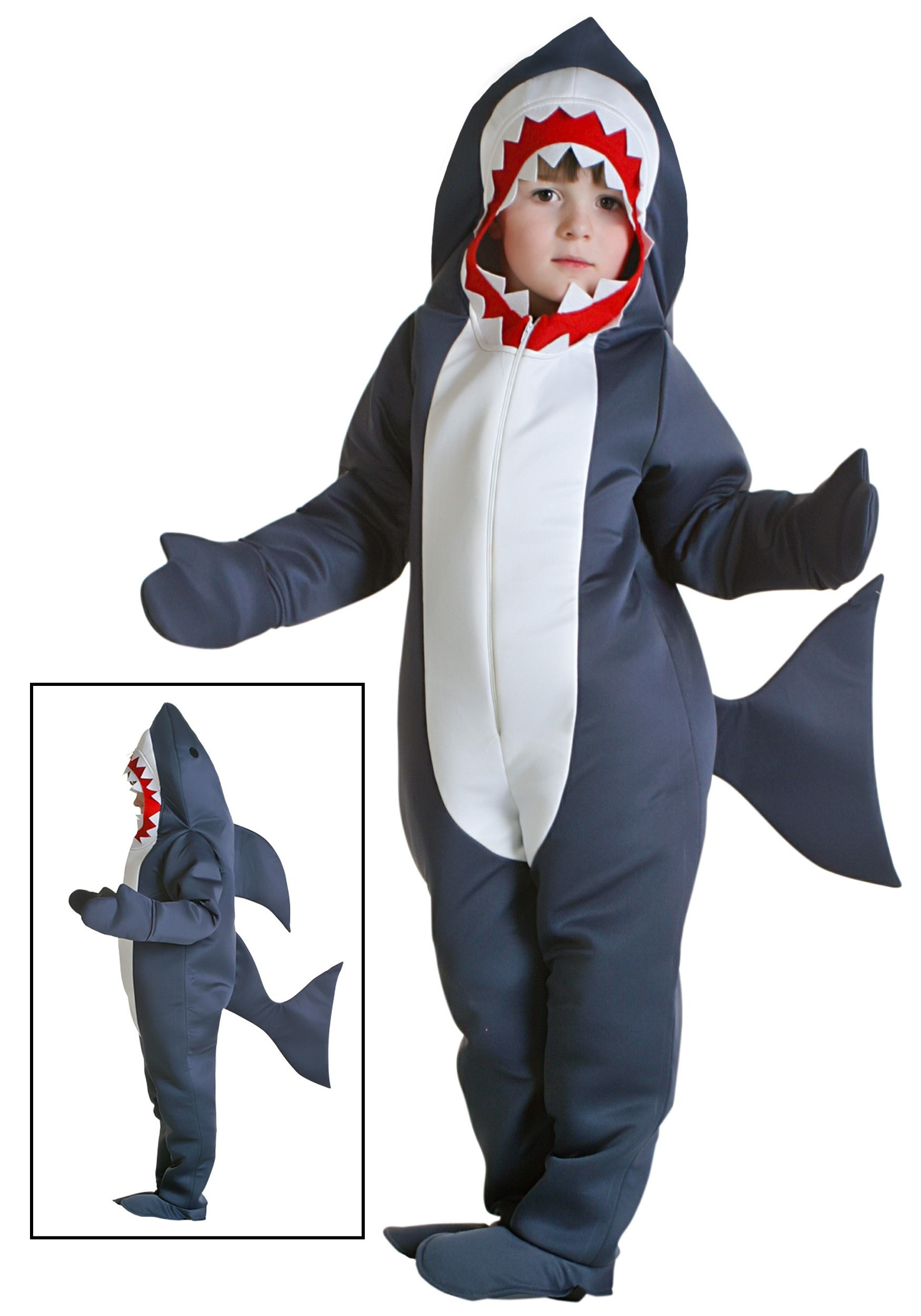 Toddler Shark Costume  sc 1 st  Halloween Costumes & Shark Costumes For Kids And Adults - HalloweenCostumes.com
