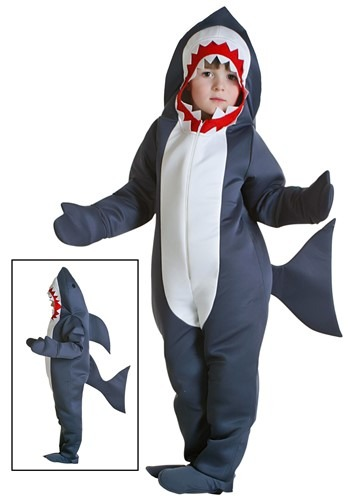Click Here to buy Toddler Shark Costume from HalloweenCostumes, CDN Funds