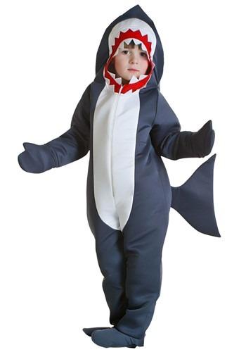 Toddler Shark Costume – Size: 2T – Polyester