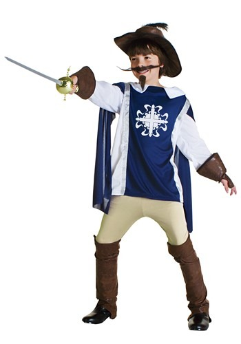 Child Musketeer Costume