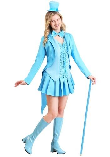 Sexy Blue Tuxedo Costume Update Main