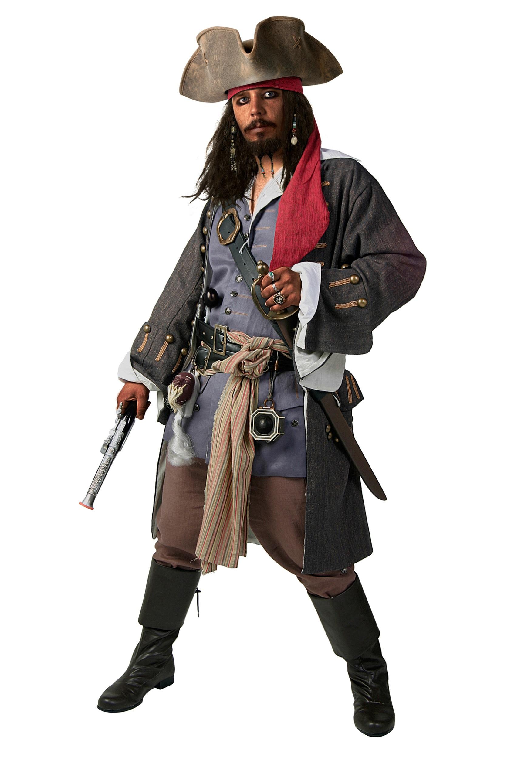 Plus Size Realistic Caribbean Pirate Costume