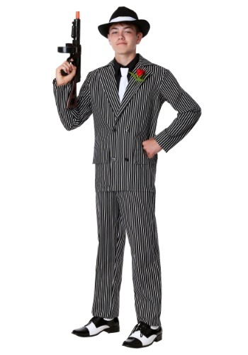 Click Here to buy Teen Deluxe Gangster Costume from HalloweenCostumes, USA Funds & Shipping