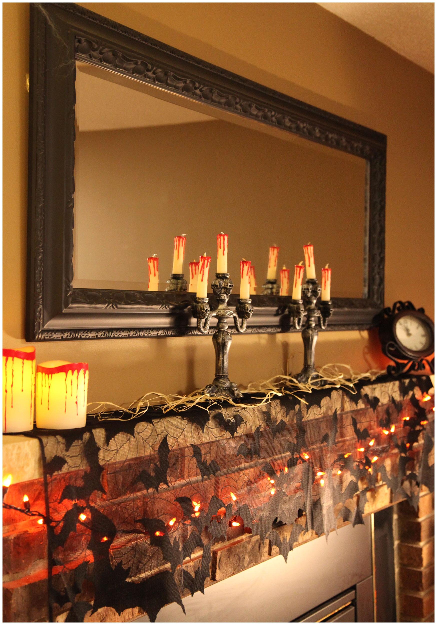 Indoor halloween party decorations - Indoor Halloween Decorations Photo 27