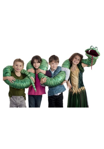 Big Green Snake Arm Puppet By: House Haunters for the 2015 Costume season.