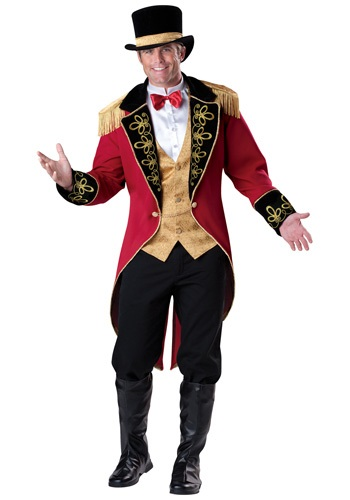 Click Here to buy Mens Elite Ringmaster Costume from HalloweenCostumes, CDN Funds