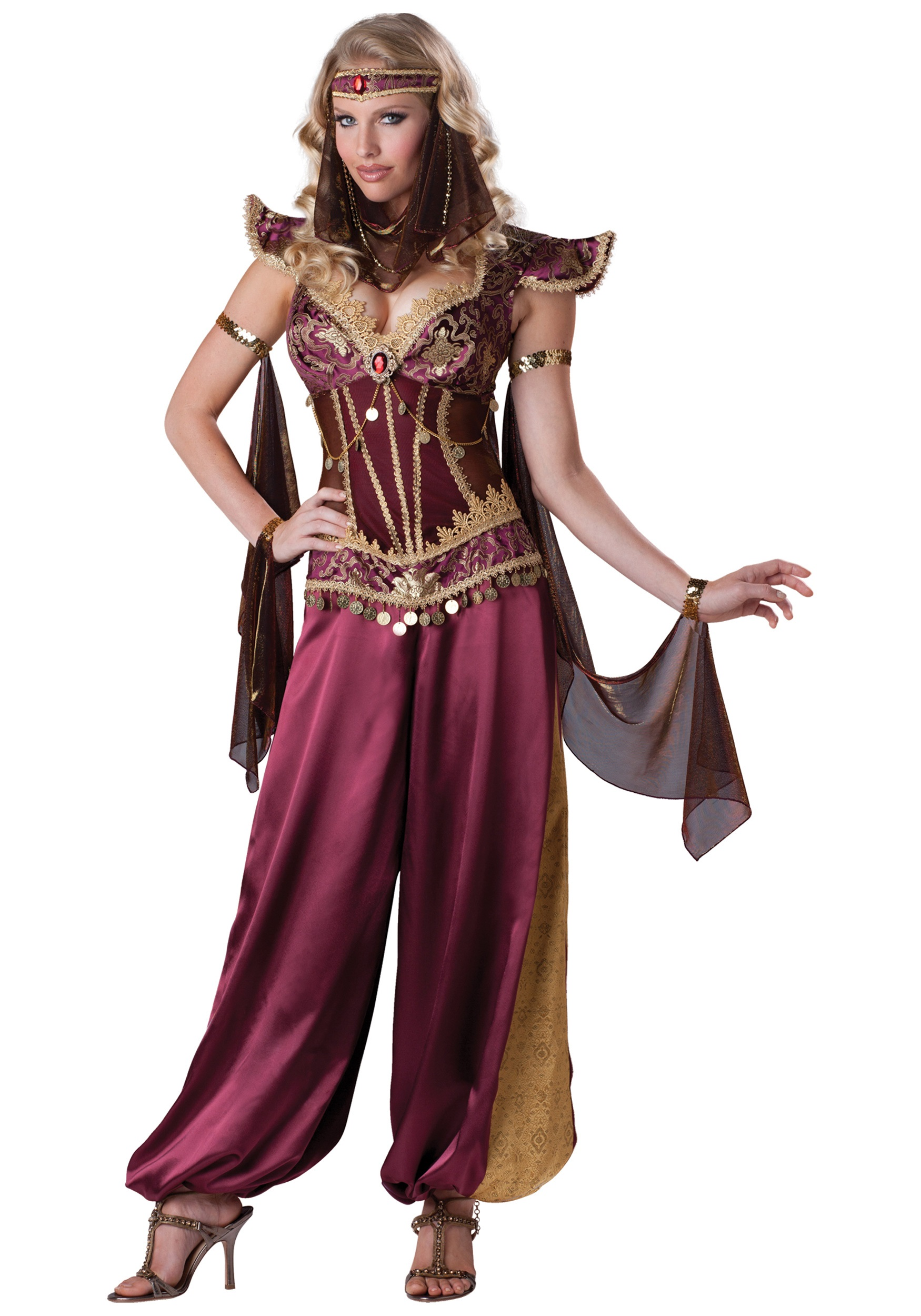sc 1 st  Halloween Costumes & Desert Jewel Genie Costume