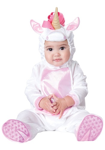 Click Here to buy Baby Magical Unicorn Costume from HalloweenCostumes, CDN Funds