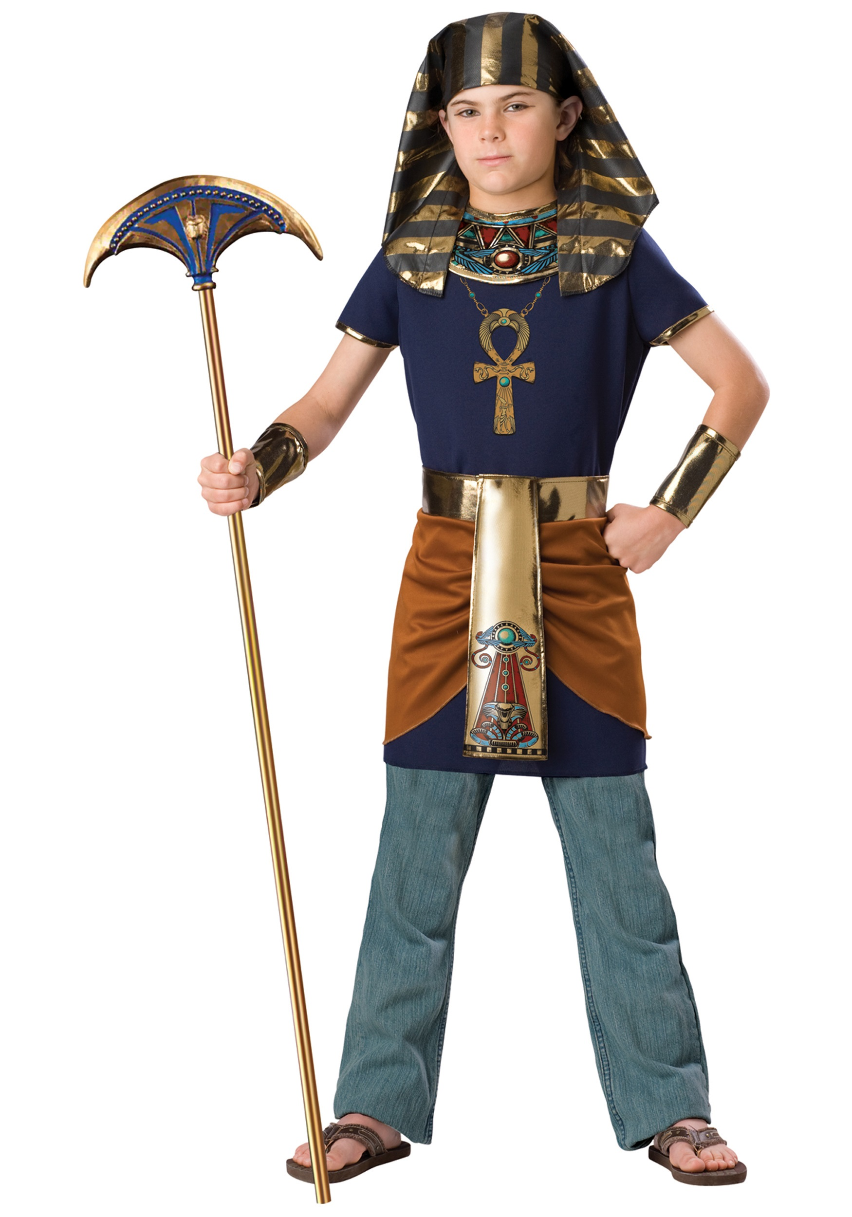 sc 1 st  Halloween Costumes & Child Pharaoh Costume